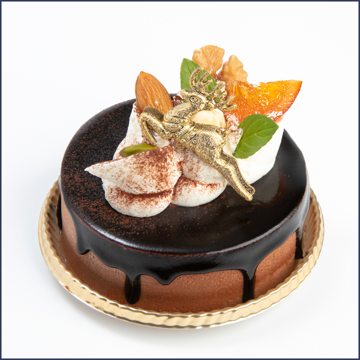 Swallowtailオリジナルクリスマスケーキ「テオブロマ」